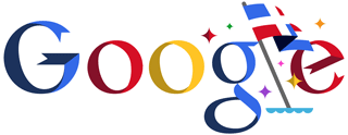 Google Logo: Dominican Republic's 2011 Independence Day